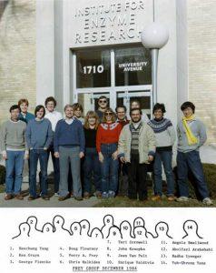 Frey group photo 1984